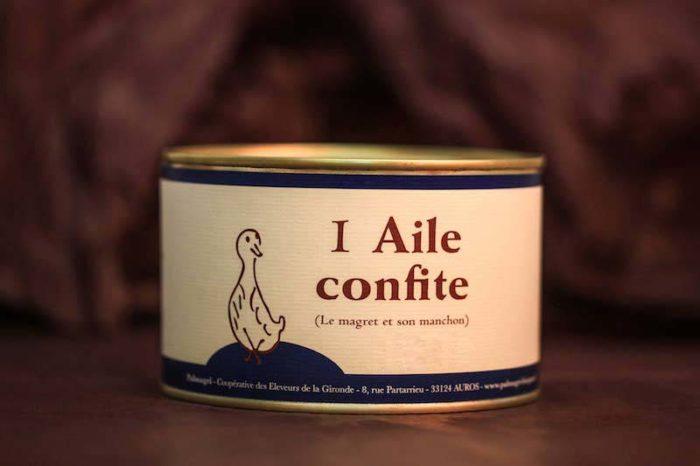 aile confite foie gras palmagri canard Langon sud ouest