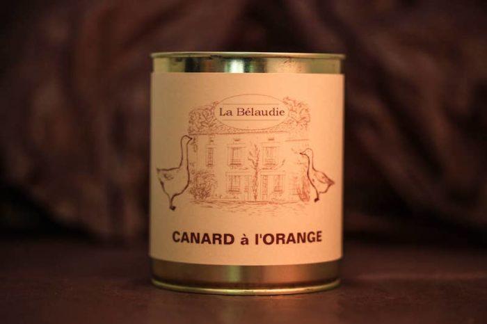 canard à l'orange foie gras palmagri langon sud ouest