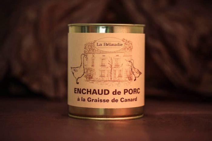 enchaud de porc foie gras palmagri langon sud ouest