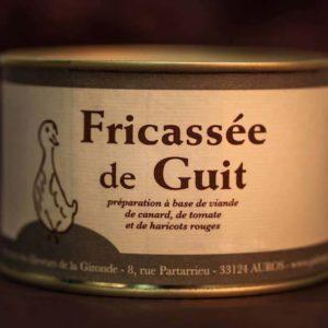 fricassée de guit foie gras palmagri Langon sud ouest