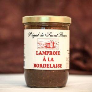 lamproie à la bordelaise foie gras palmagri Langon sud ouest