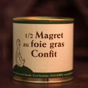 demi magret foie gras palmagri Langon sud ouest