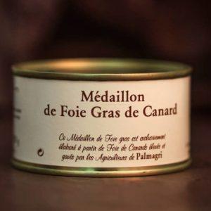 médaillon foie gras palmagri Langon sud ouest