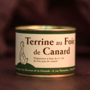terrine foie gras palmagri Langon sud ouest